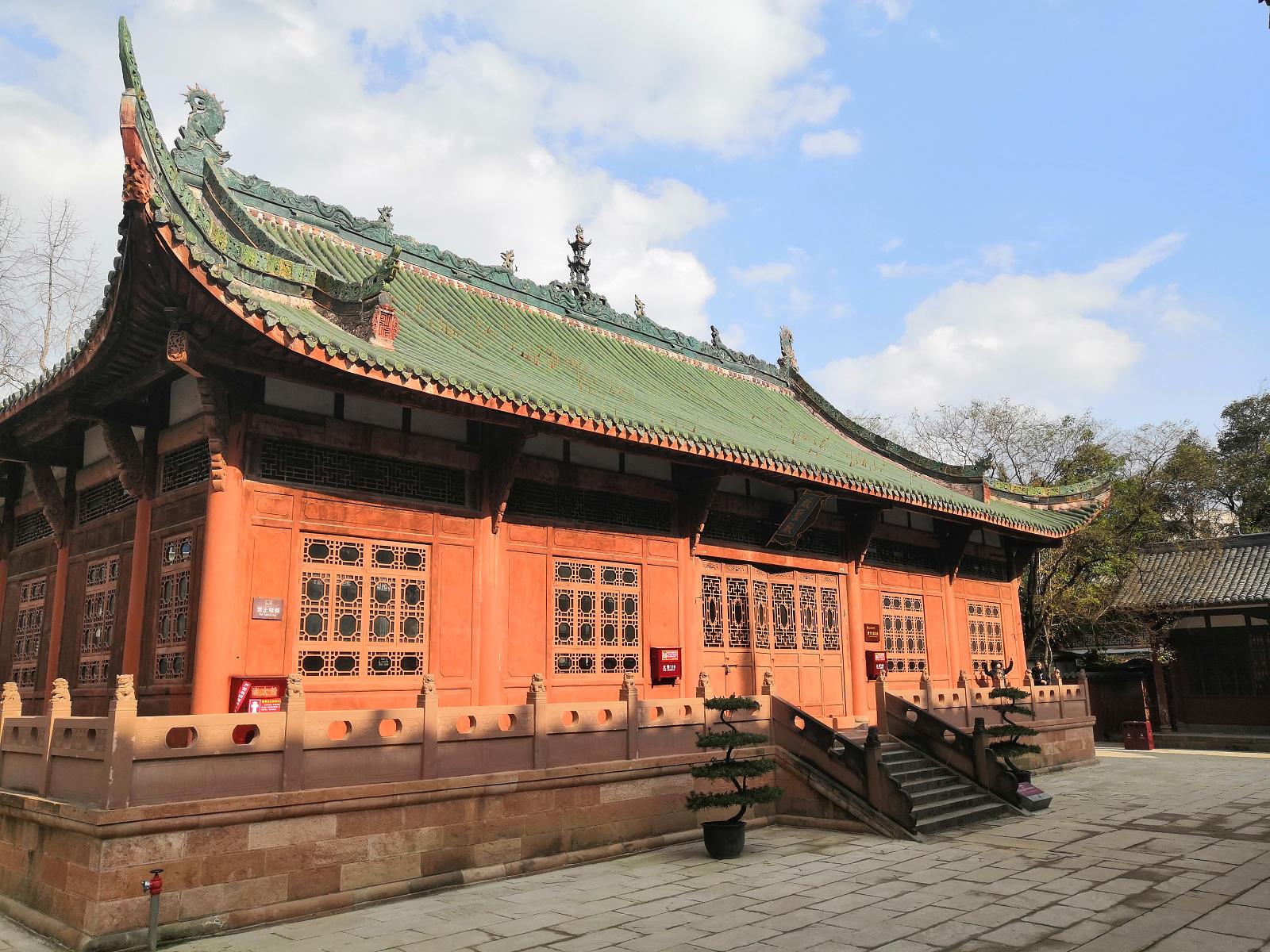 德陽文廟,啟聖殿